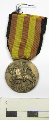Medal, Commemorative of the Spanish Campaign.