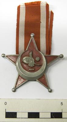 War Medal, Turkish