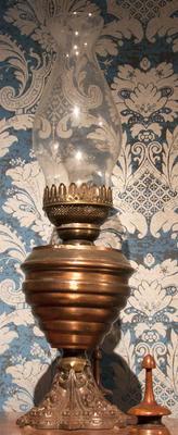 Lamp, Oil; 1870-1890; A67.304