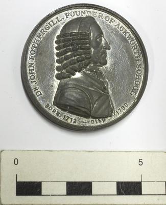 Medallion, Ackworth School Centennial