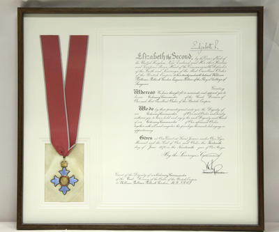 Medal, Commander of the Most Excellent Order of the British Empire (CBE)
