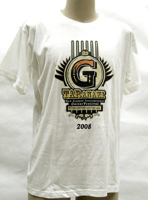 T-Shirt (2008 G-TARanaki New Zealand International Guitar Festival)
