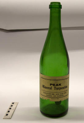 Bottle, Turpentine