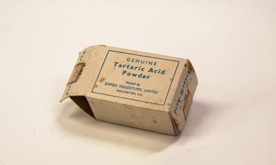 Box, Tartaric Acid