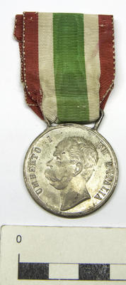 Medal, United Italy