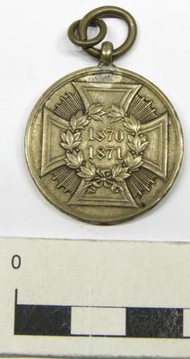 Medal, War Commemorative (1871)