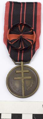 Medal, Resistance (Médaille de la Résistance)