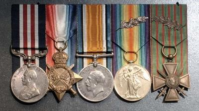 Medals, Military