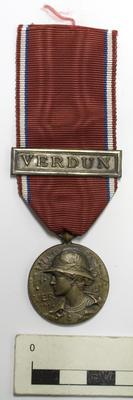 Medal , Verdun (Prudhomme); A74.906