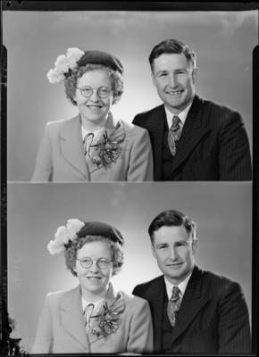 Alfred and Olive Lovell; 18 Jun 1952; SW1952.0083