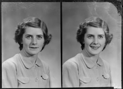 Howell, Woman; 16 Nov 1952; SW1952.0675