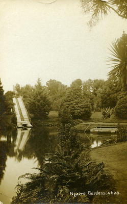 Ngaere Gardens - Feely collection of photo postcards and photographs
