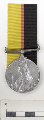 Medal, Queen's Sudan; 1899; A74.841