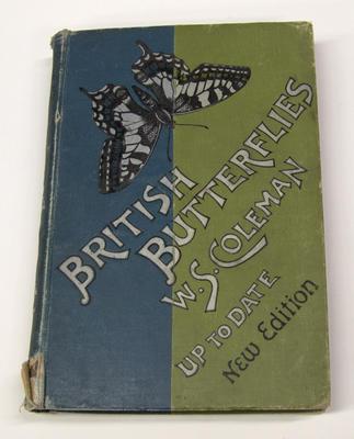 "Book, ""British Butterflies"" by W.S. Coleman"