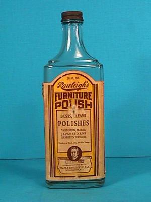 Bottle, Rawleigh's Furniture Polish