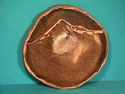 Platter, Boxthorn Glaze