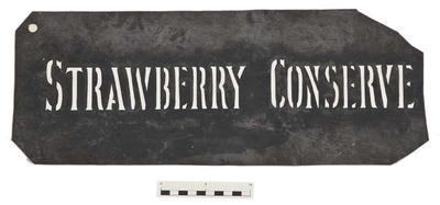 Stencil; Circa 1876-1905; TM2000.317