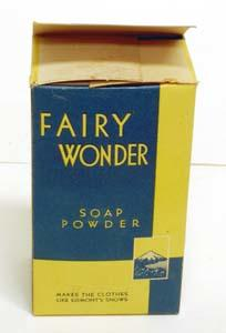 Box, Soap Powder
