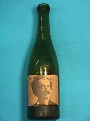 Bottle,  Survey Marker