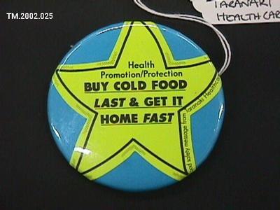 Badge, Pin; Circa 1990s; TM.2002.025