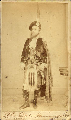 """Dr McKinnon V.C./57th""; Circa 1860s; PHO2008-568"