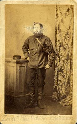 """""""Lieut Waltr de W. Waller.""""; Circa 1860s; PHO2008-572"""