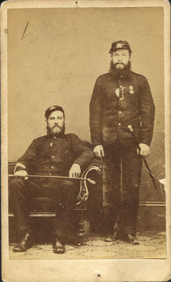 Sergeant Henry Roberts and Private William Orr