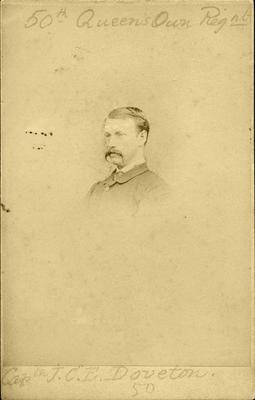 """Captn J.C.E. Doveton.""; Unknown; PHO2008-616"