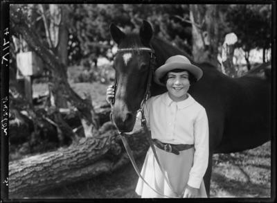 Weston, Girl and Horse