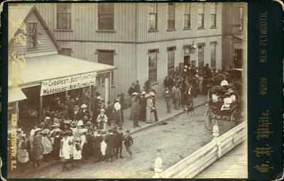 Election day, New Plymouth, 1893