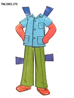 Paper Doll, Outfit; 1977; TM2002.370
