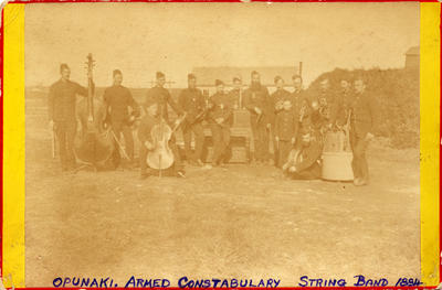 """""""Opunaki, Armed Constabulary String Band 1884"""""""
