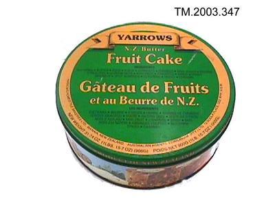 Tin, Cake; TM2003.347