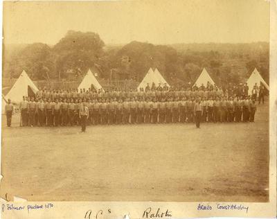 Armed Constabulary, Rahotu; Circa 1882; PHO2008-1874