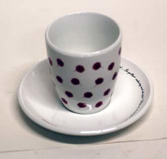 Cup, Saucer; Circa 2004; PA2004.111