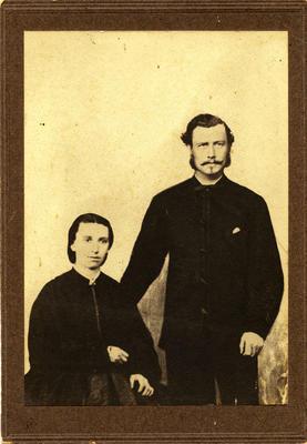 Captain Matthew Jenkins Jones and his wife