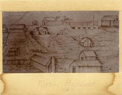 """""""Waihi Redoubt 1859 [sic]"""""""