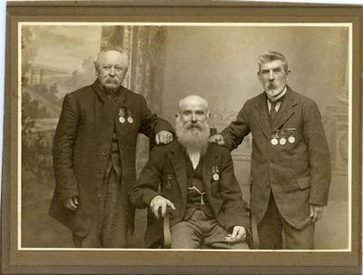 Three Turuturu Mokai Veterans
