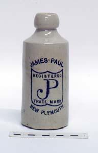 Bottle, Stoneware Dumpy; A97.045