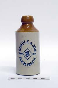 Bottle, Stoneware Dumpy; A97.046