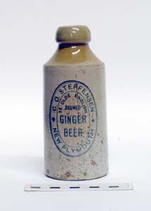 Bottle, Stoneware Dumpy; A97.047