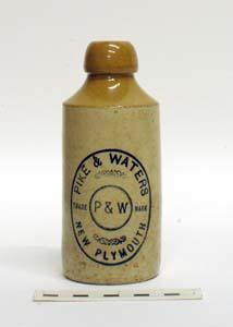 Bottle, Stoneware Dumpy; A97.051