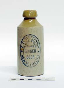 Bottle, Stoneware Dumpy; A97.053