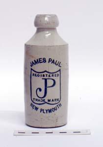Bottle, Stoneware Dumpy; A97.055