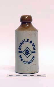Bottle, Stoneware Dumpy; A97.089