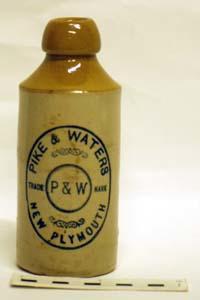 Bottle, Stoneware Dumpy; A97.170