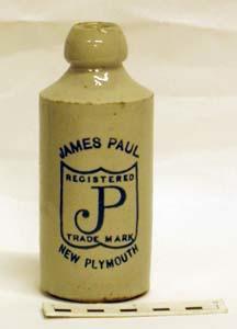 Bottle, Stoneware Dumpy; A97.197