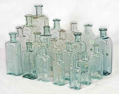 Bottle, Chemist; A97.542