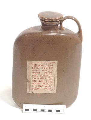 Bottle, Hot Water; 1940s; A68.459