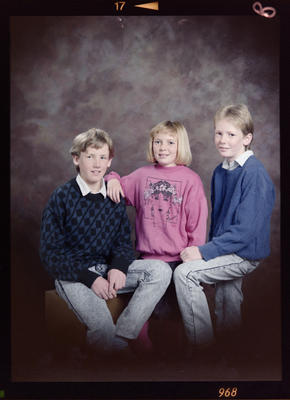 Brady, Gina and Kyle Nixon